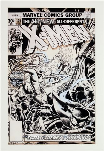 Cover Art X-Men #103